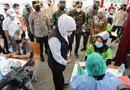 Percepat Herd Immunity, Serbuan Vaksinasi Berbasis Pekerja di Sidoarjo Di tinjau Langsung Oleh Forkopimda Jatim